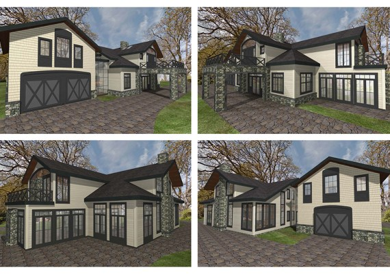 Silver - The Sky Is The Limit Design - Carriage House