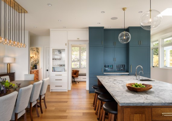 Silver - Kimberly Williams Interiors, South Shore Cabinetry and Rannala Freeborn Construction - Spindrift Residence