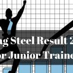 Vizag Steel Result 2018 for Junior Trainee