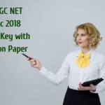 NTA UGC NET 19 Dec 2018 Answer Key with Question Paper