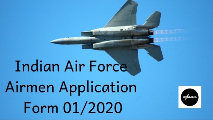Indian Air Force Airmen Application Form 012020