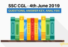 SSC CGL 4th June 2019