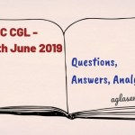 ssc cgl 12th june