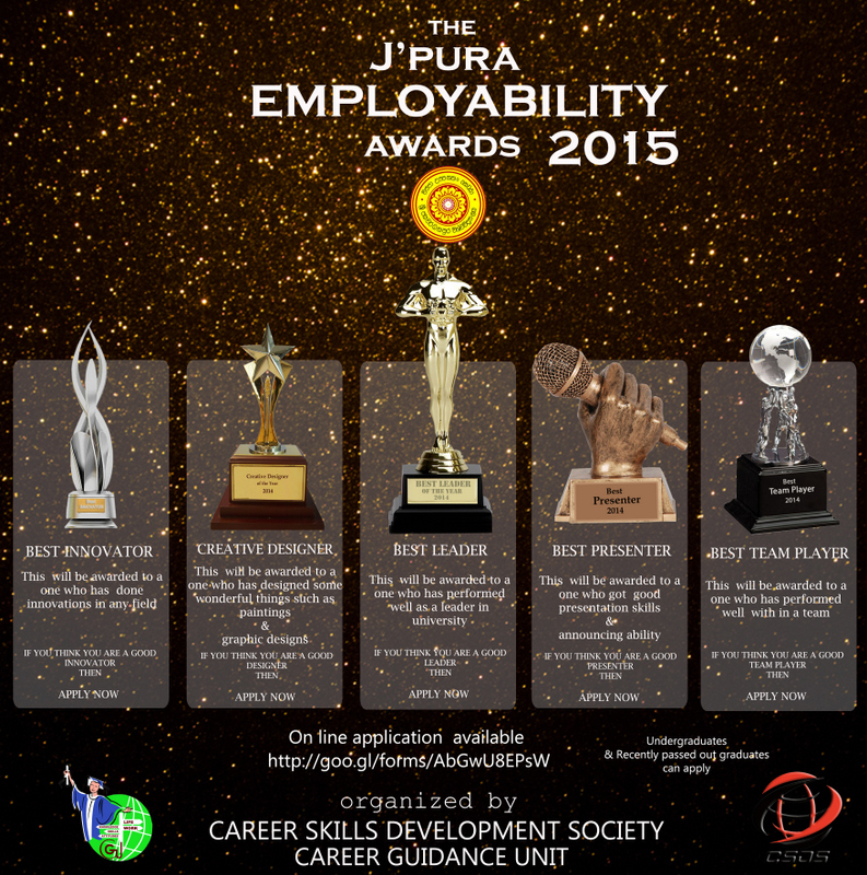 J'pura Employability Awards 2015