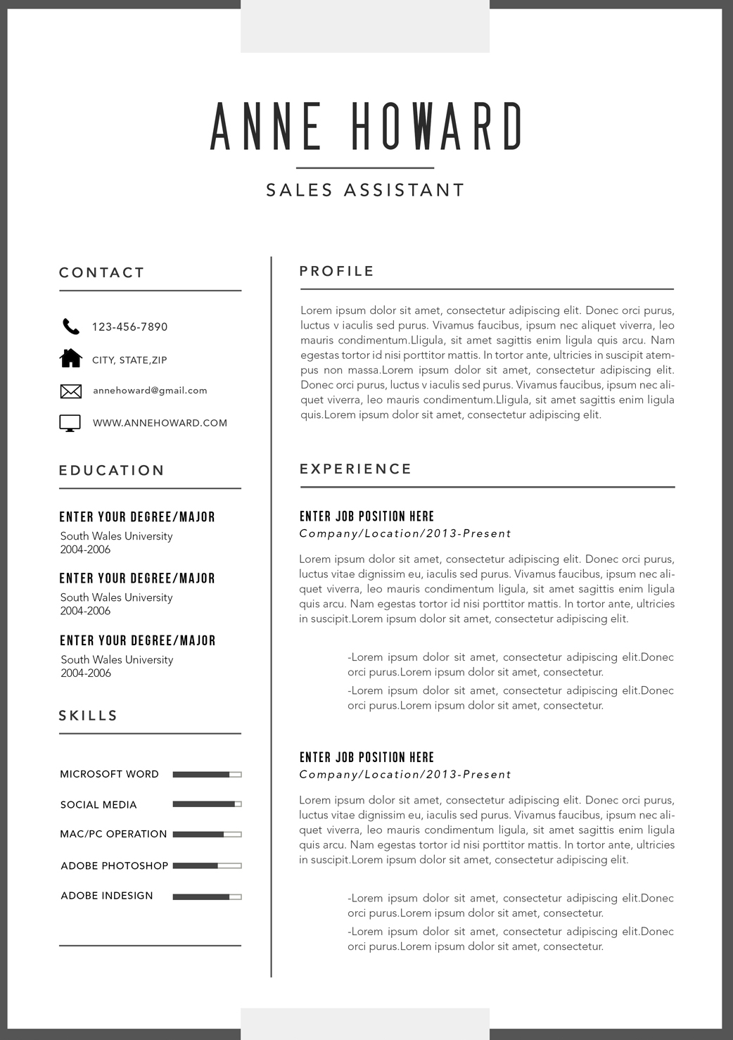 Best Corporate Resume Format The Best Modern Resume Templates For 2016