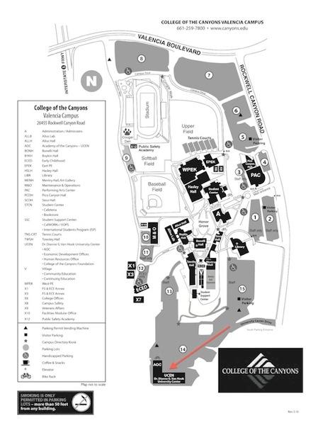 Valencia College Map : valencia, college, Location, CareerCampSCV, University, Center,, College, Canyons