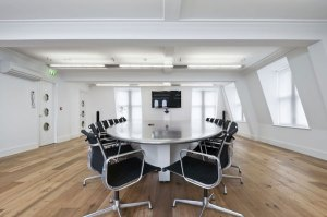 backgrounds motion background conference table silver stationary meeting office interior