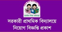 Govt Primary School Job Circular Image