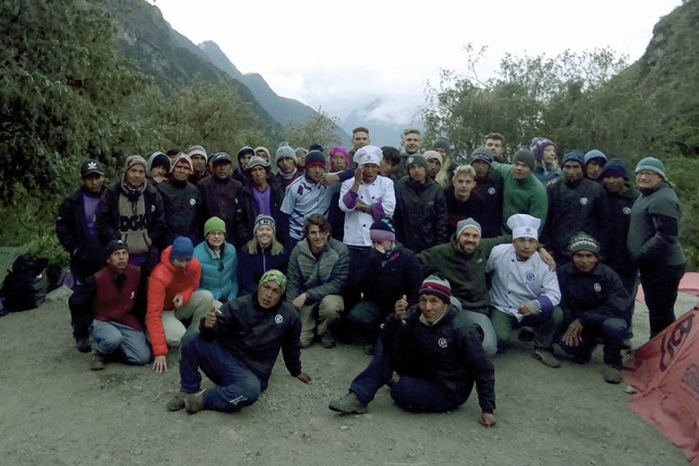 Without the amazing support of our Inca Trail porters, guides and chefs, the experience wouldn't have been possible