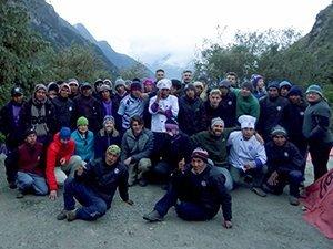 Group at camp