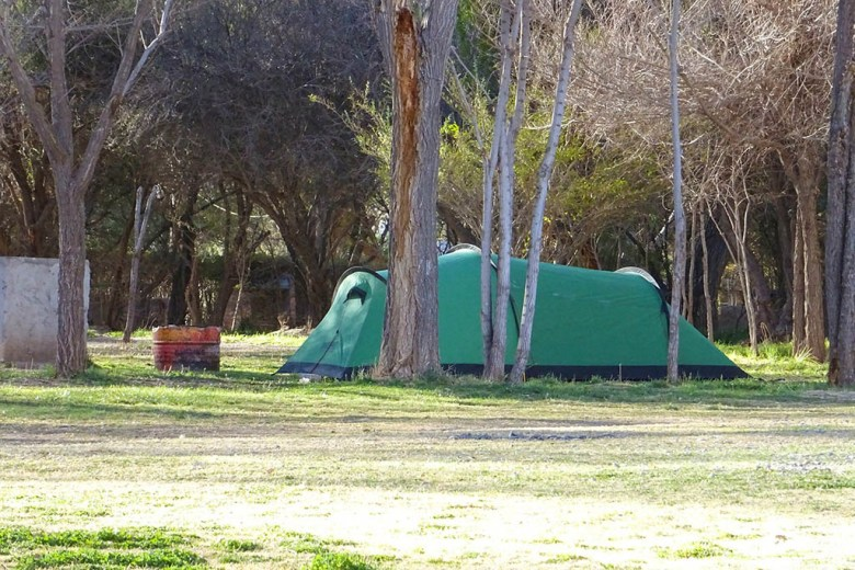 We had an odd experience at Camping Municipal in Cachi, and ended up camping for free