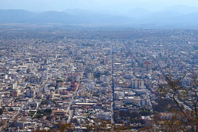 Salta is the main hub city in the north-west region of Argentina