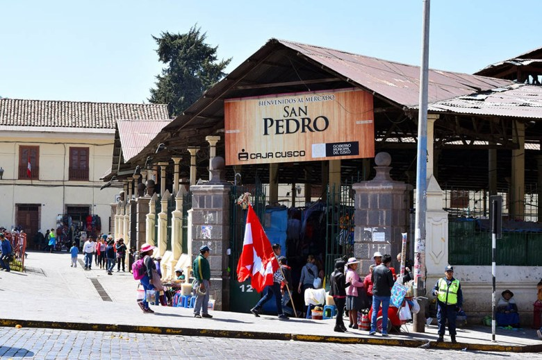 Discovering Peru through local markets like San Pedro, Cusco, is another good way to eat on the cheap