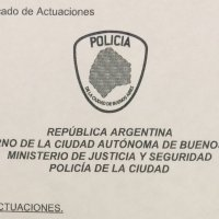 Buenos Aires robbery police report