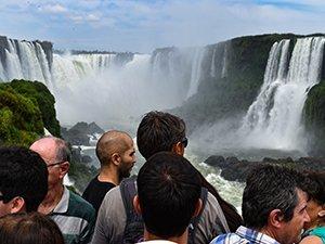 Tourist traffic in Brazil