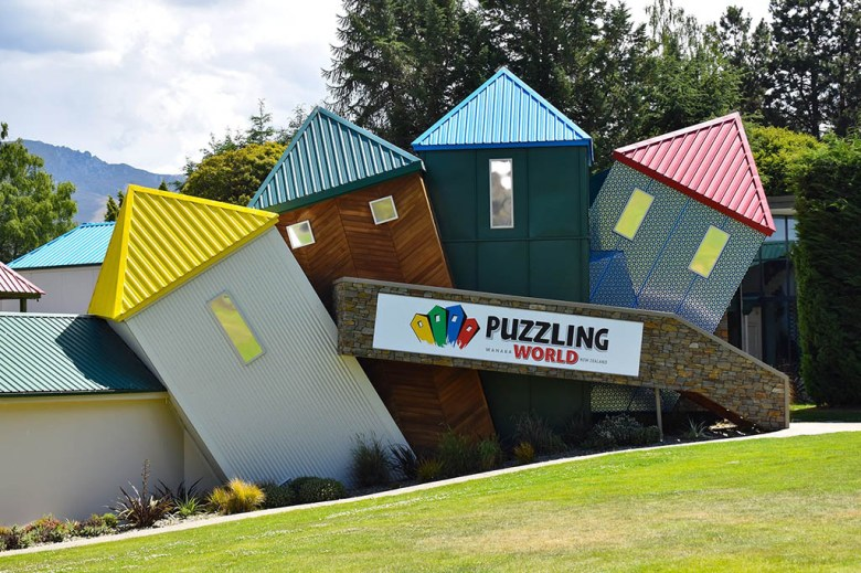 Puzzling World, Wanaka, is a 'wonderful world of weirdness'