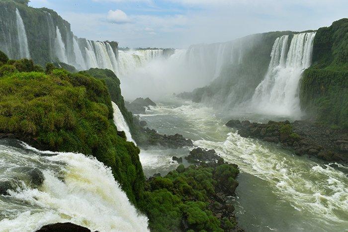 Garganta Del Diablo - Iguassu Falls - Brazil