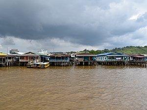 Kampong Ayer water village Bandar Seri Begawan Brunei