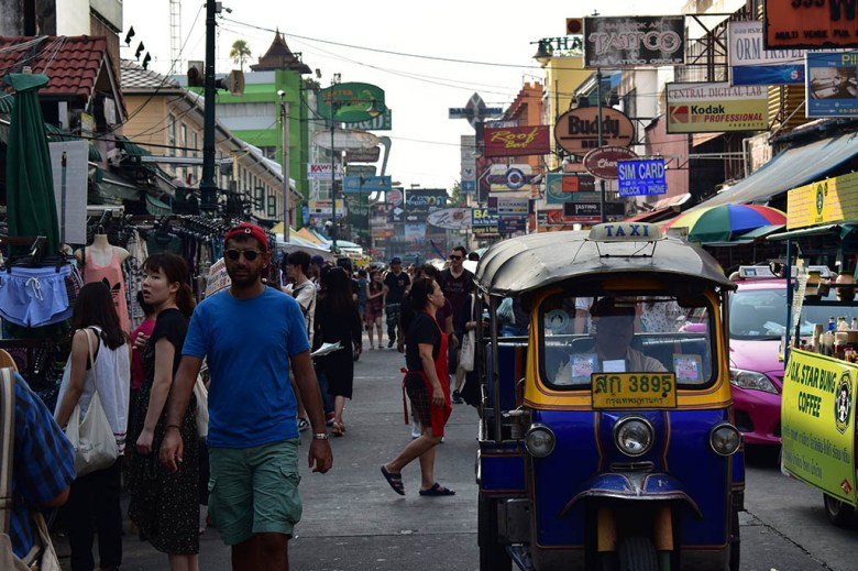 We spent our first three nights in Bangkok near the famous Khao San Road