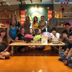 Thai cooking class group photo