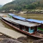 Slow boat to Luang Prabang Thailand to Laos