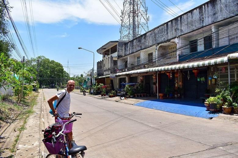 Cycling in Savannakhet Laos