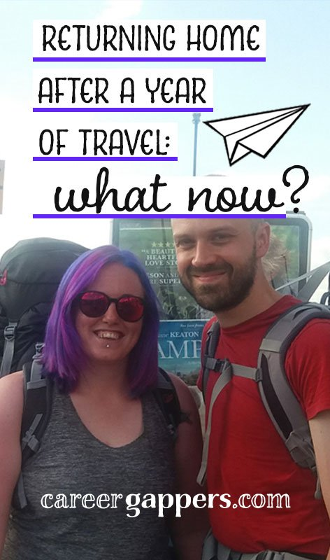 At the end of a one-year career break travelling the world, this is the story of how we faced returning home, the emotions surrounding it, and exciting new plans for the future.