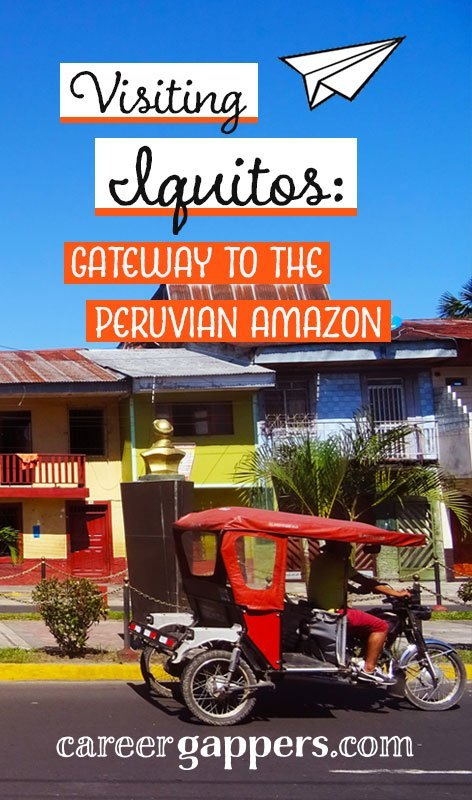 Surrounded by luscious jungle and only accessible by boat or air, Iquitos is the perfect gateway to the Peruvian Amazon. Here's how we explored the city and the nearby jungle.