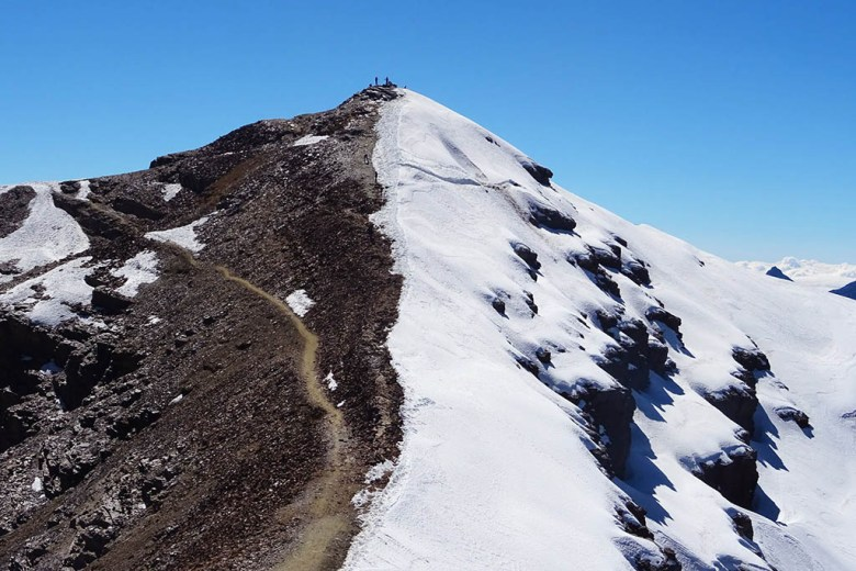 Altitude training: Chacaltaya is one of several accessible peaks over 5,000m in Bolivia