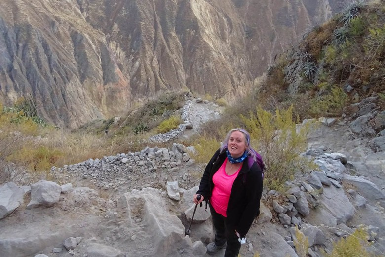Colca Canyon trek: tT
