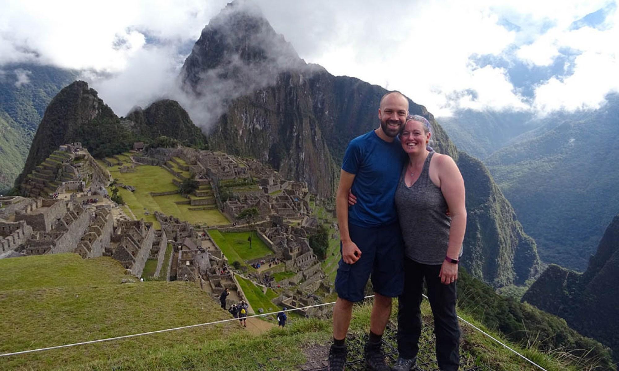 Alex and Lisa Machu Picchu Peru