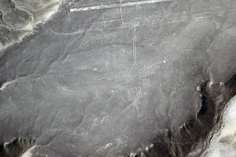 Nazca Lines: the Hummingbird
