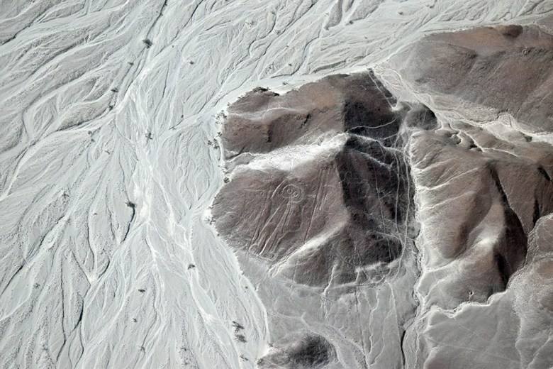 The Astronaut Nazca Lines