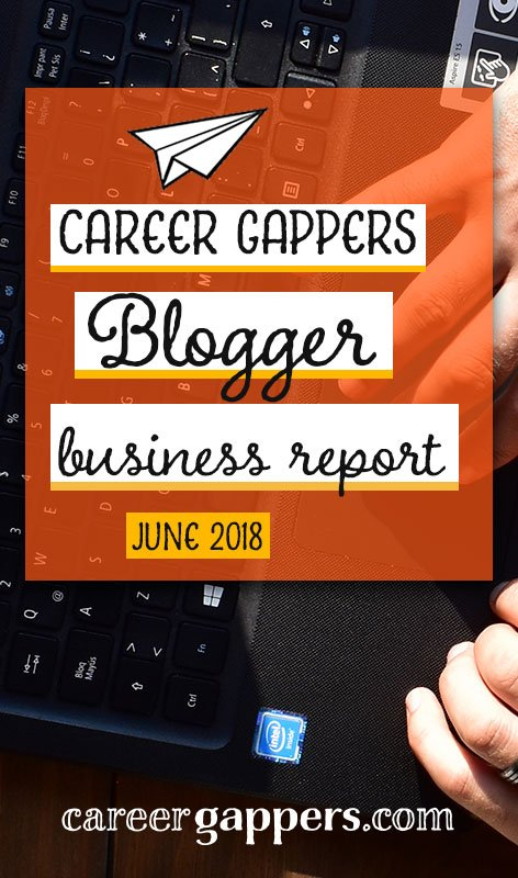 Follow my progress as I attempt to transform a travel blogging hobby into a thriving business. This is my monthly report for June 2018.