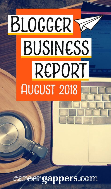 Each month I report on my progress as I attempt to transform my travel blog into a thriving business. This is my business report for August 2018.