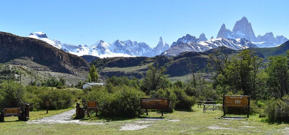 Camping in El Chaltén