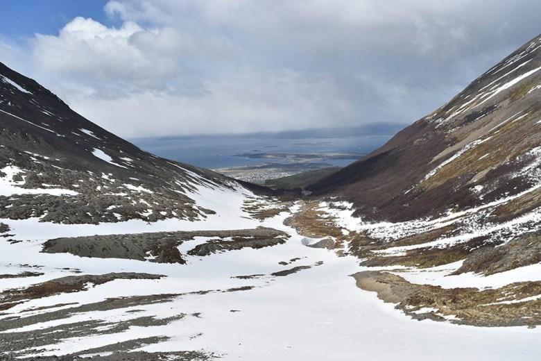 Glaciar Martial view of Ushuaia