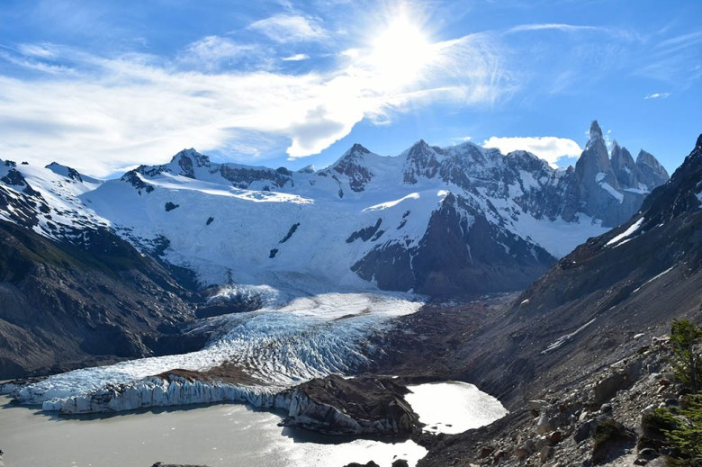 Torre Glacier is a spectacular sight from Mirador Maestri