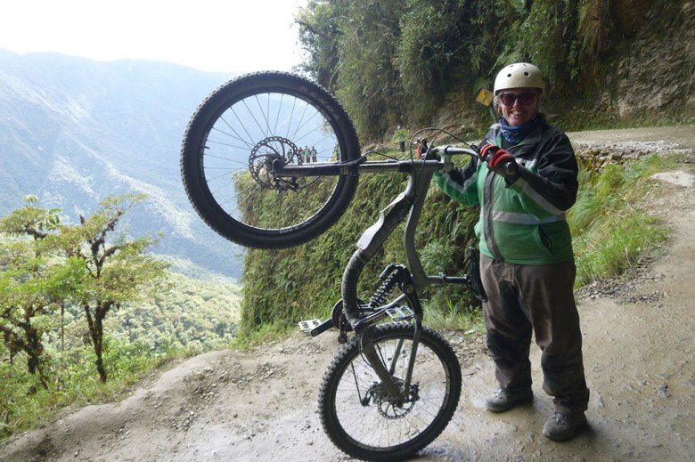 Lisa Pool Career Gappers cycling Death Road Bolivia