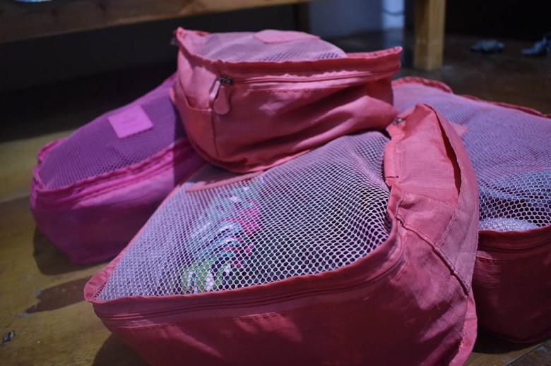 Our packing cubes have proved to be our most effective and useful travelling accessory