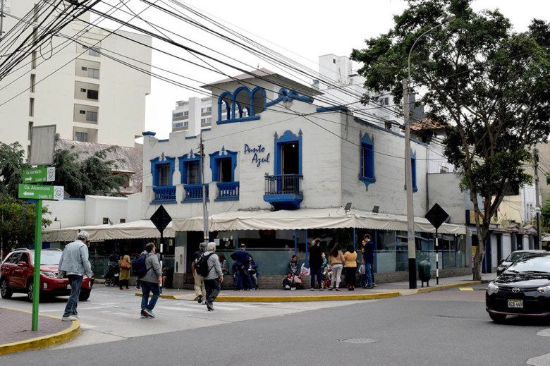 We had some of our best Peruvian food at Punto Azul in Lima