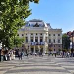The Slovakian National Theatre in Bratislava