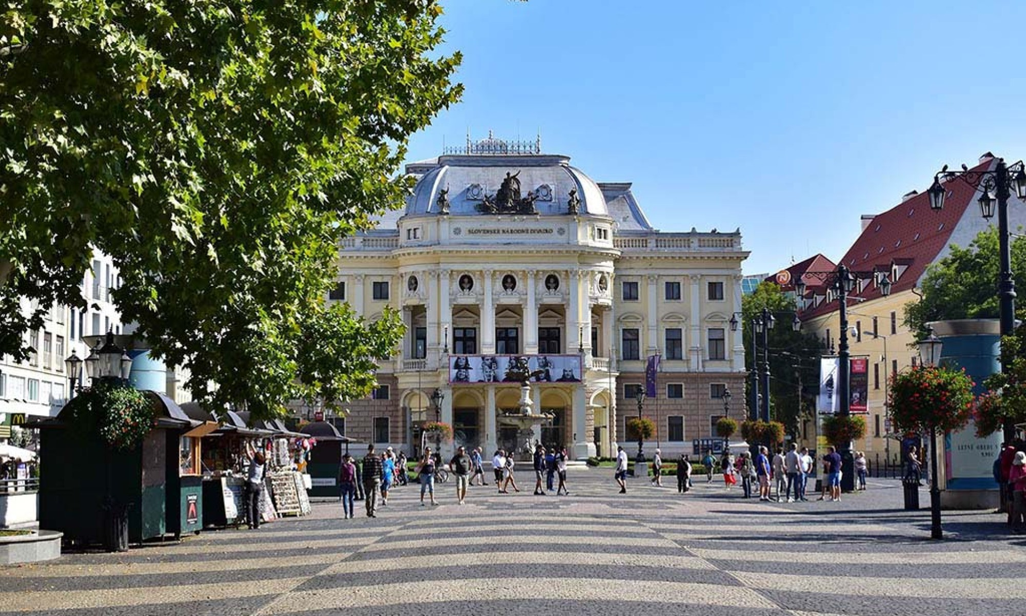 The Slovakian National Theatre in Bratislava
