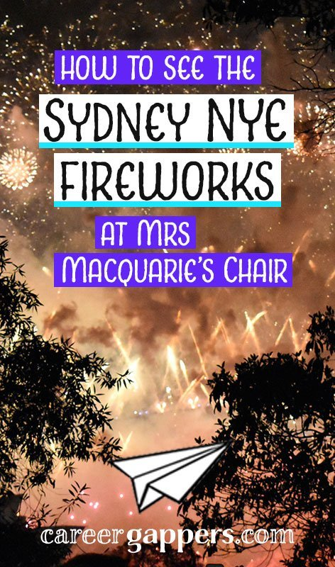 Mrs Macquarie's Chair is one of the best Sydney NYE vantage points for backpackers on a budget. Here are our tips to make the most of your special day.