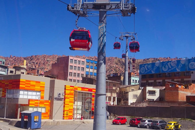 Mi Teleférico in La Paz is the world's highest-altitude cable car system