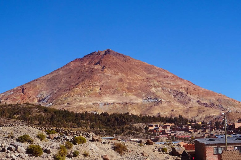 At the height of silver production, the mining city Potosí had a larger population than London and Paris