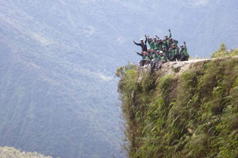 When booking adventure tours like Death Road biking it's vital to check the operator's safety record
