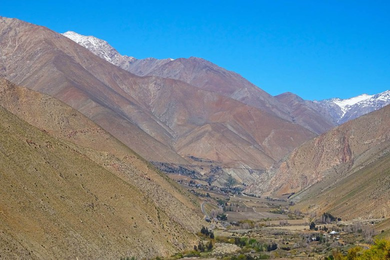 The Elqui Valley is the home for production of pisco brandy, Chile's national drink