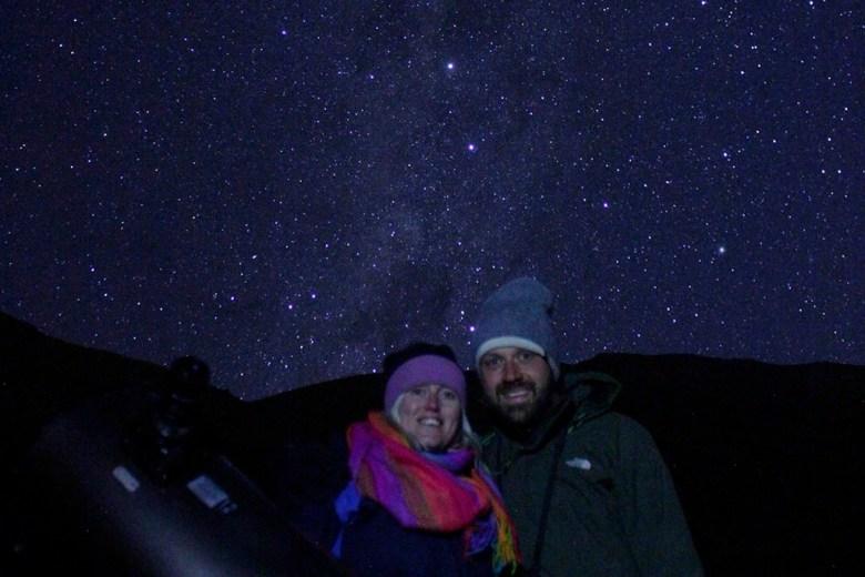We took a stargazing tour in Pisco Elqui with Turismo Migrantes