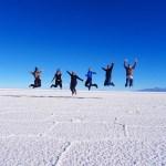 Salar de Uyuni word's largest salt flat Bolivia